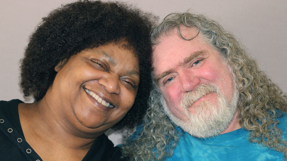 Diana and Rick Abath during a recent visit to StoryCorps. (StoryCorps)