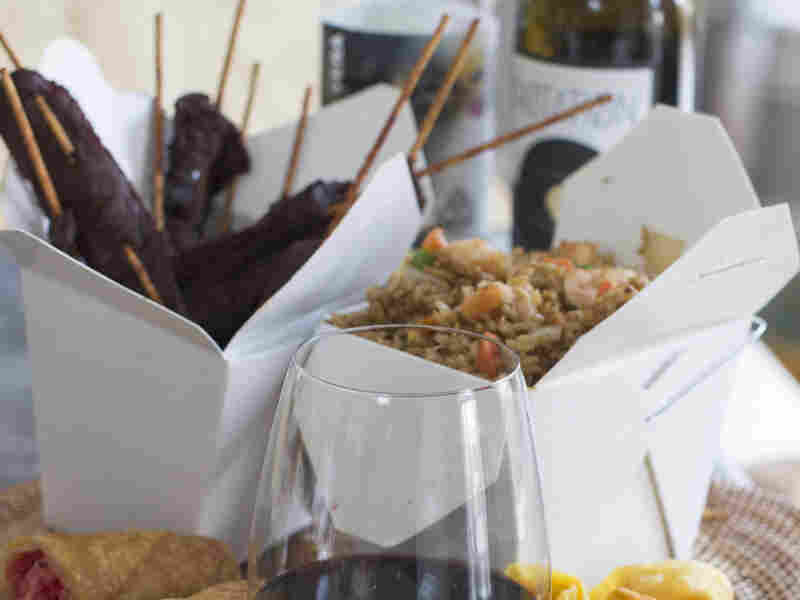 What kind of red wine pairs well with Chinese takeout?