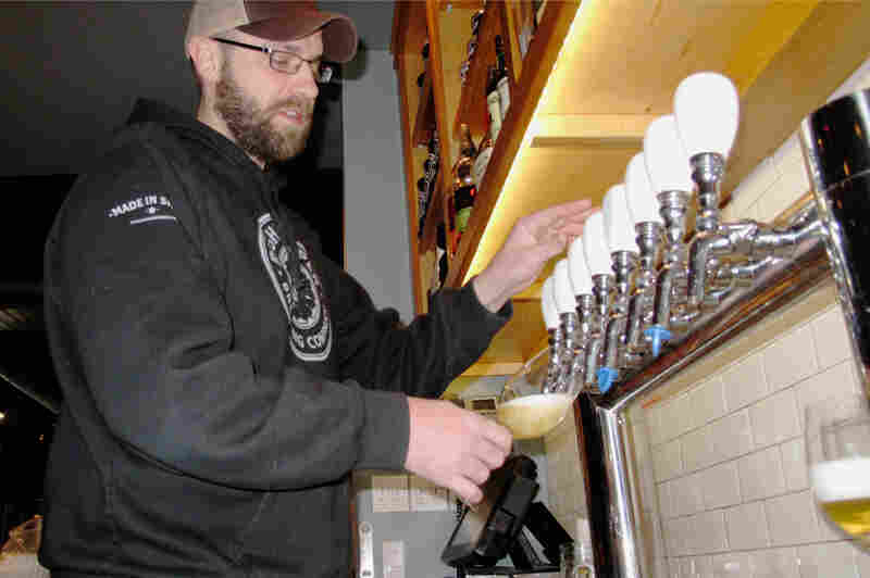 """There's a lot of stress involved. We have 14,000 pounds of stainless steel arriving in two days,"" Thor Cheston of Right Proper Brewing Company says. ""It's a lot of fun though."""