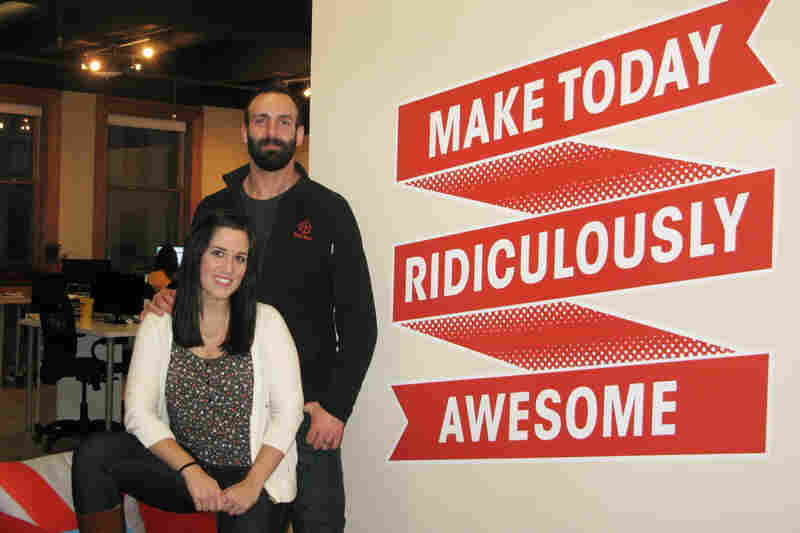 Paul and Stephanie Jarrett are co-founders of the e-commerce platform Bulu Box, in Lincoln, Neb.