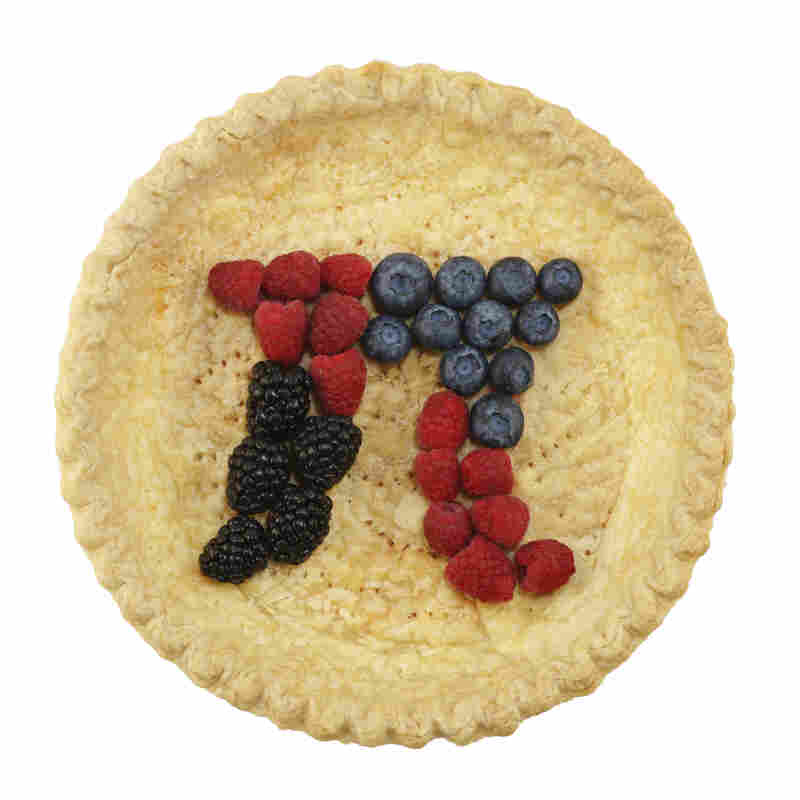 Lots of folks eat pie on Pi Day.