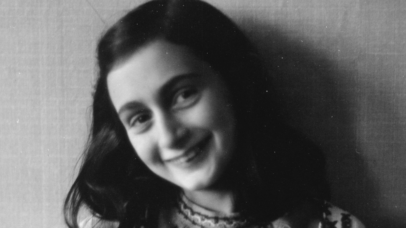 seven decades on anne frank 39 s words still comfort npr. Black Bedroom Furniture Sets. Home Design Ideas