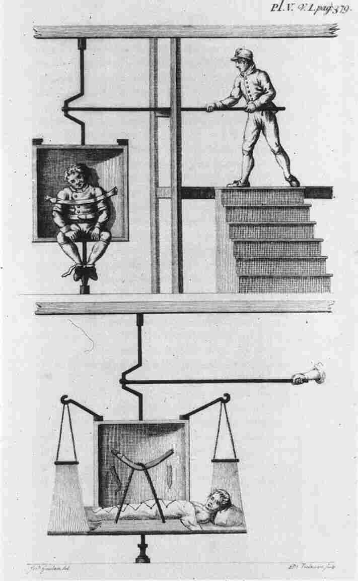Benjamin Rush, a physician and one of the signers of the Declaration of Independence, invented the rotational chair as a treatment for psychotic patients. He believed the chair helped improve circulation to the mentally ill brain.