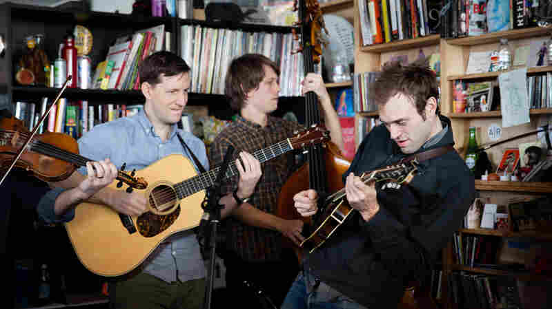 Tiny Desk Concert with the Punch Brothers Feb. 20, 2015.