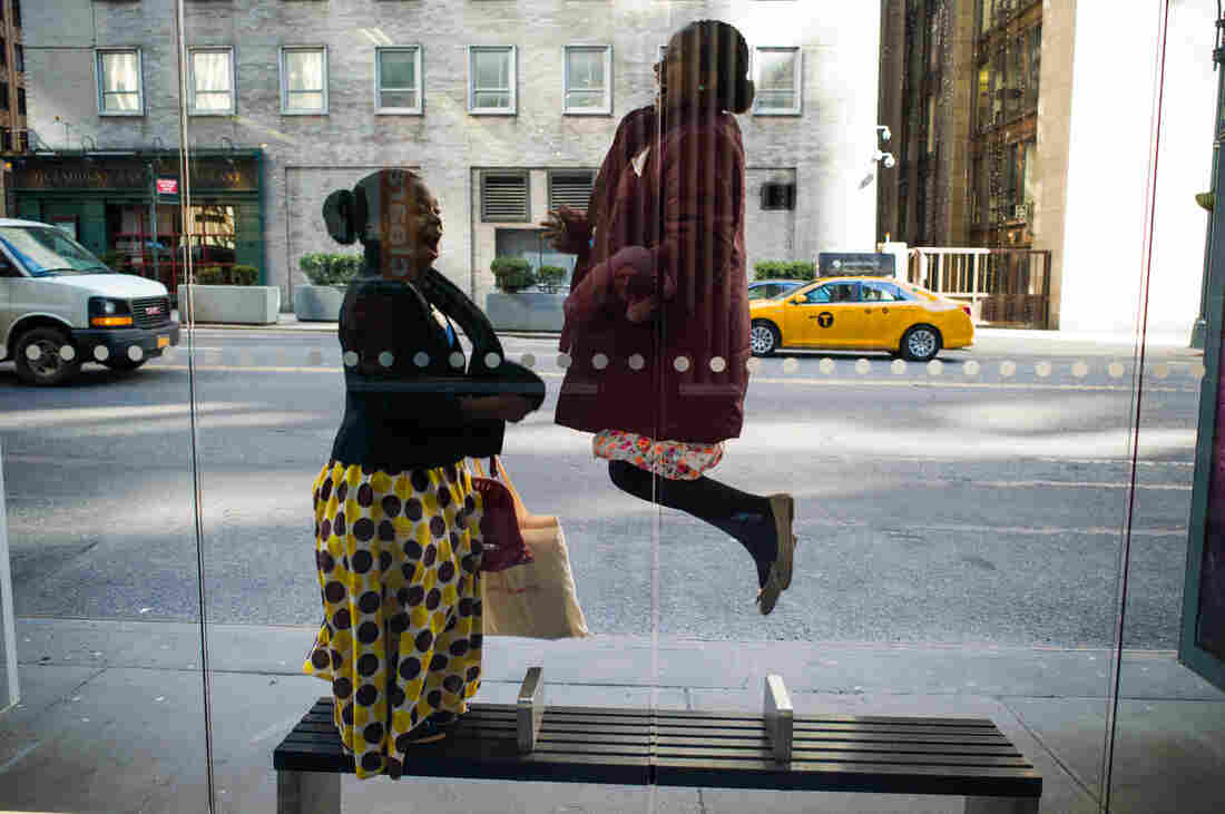 Memory from Malawi, left, and Achie from Ethiopia became best friends in a New York minute.