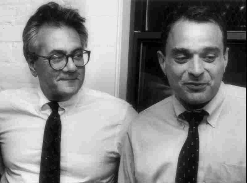 Barney Frank (left) came out of the closet in 1987 when he was in a relationship with Herb Moses (right). They eventually split. In 2012, Frank married Jim Ready, becoming the first member of Congress to enter into a same-sex marriage.