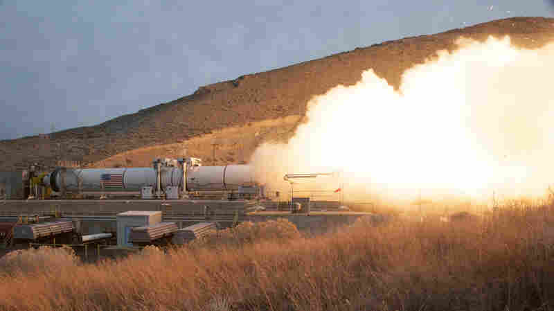 NASA fired the largest, most powerful rocket booster ever built on March 11 in Promontory, Utah. It was a test — part of NASA's long-term plan to send a spacecraft to deep space destinations, including Mars.