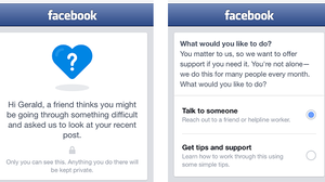 Facebook's Suicide Prevention Tools Connect Friends, Test Privacy