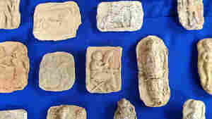 U.S. Returns Dozens Of Looted Artifacts To Iraq