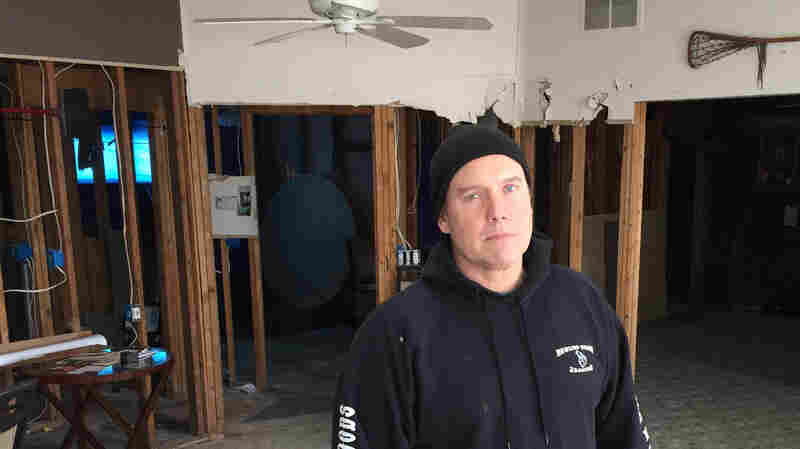 Doug Quinn's ranch house in Toms River, N.J., was heavily damaged by flooding during Hurricane Sandy. His insurance company gave him half the value of his home and when he appealed, FEMA sided with the insurance company.
