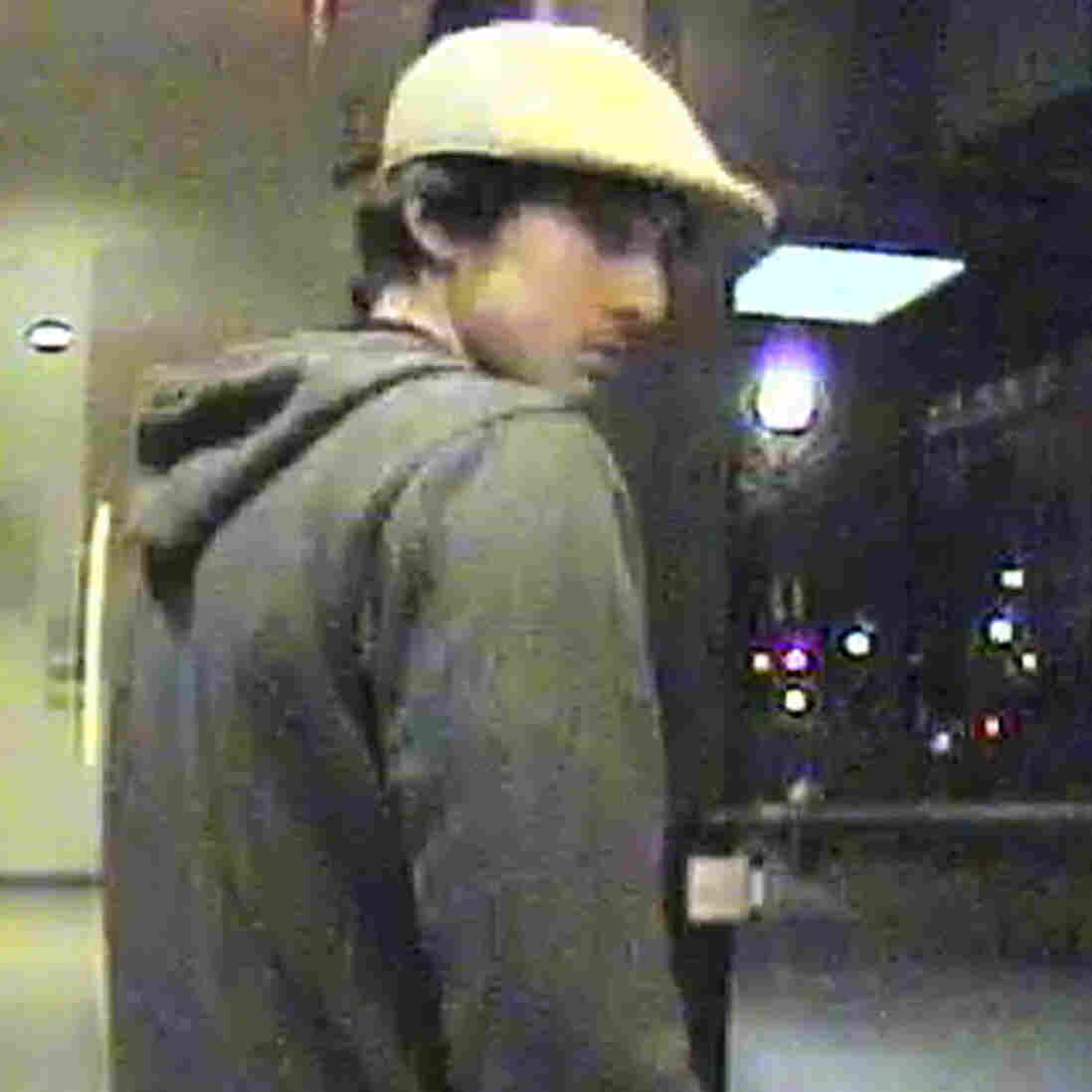 A still image from surveillance video that was entered as evidence shows Boston Marathon bombing suspect Dzhokhar Tsarnaev in 2013, in a handout photo provided by the U.S. Attorney's Office in Boston. Tsarnaev, 21, is accused of killing three people and injuring 264 with a pair of homemade bombs at the race's crowded finish, as well as fatally shooting a police officer three days later.