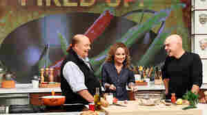 Celebrity chef Giada De Laurentiis during a guest appearance on ABC's The Chew last fall. She can cook rich foods and keep her trim figure, but new research suggests that's a difficult feat for amateur cooks watching along at home.
