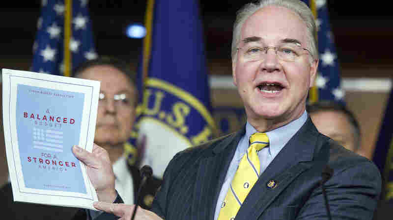 "Republican Rep. Tom Price, House Budget Committee chairman, said Tuesday that his budget ""saves $5.5 trillion, gets to balance within 10 years, without raising taxes."""