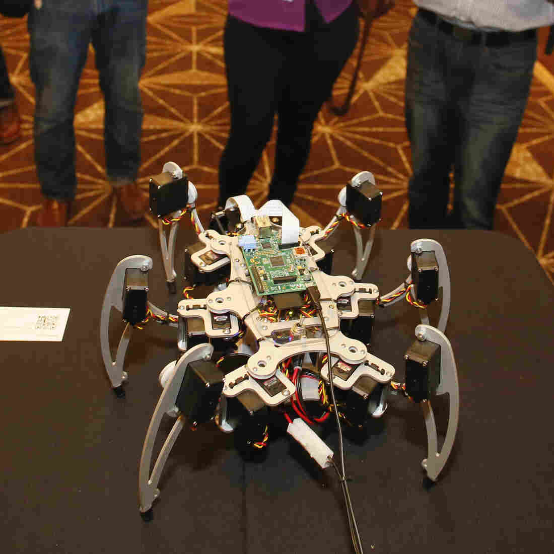 SXSW Debuts Robot Petting Zoo For A Personal Peek Into The Future