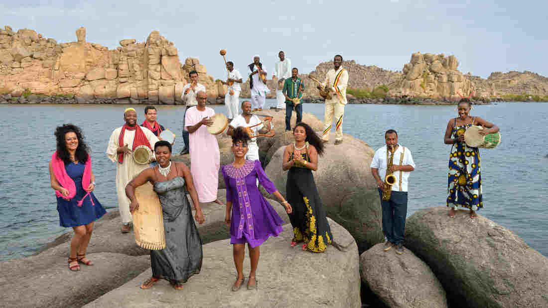 The Nile Project in Aswan, Egypt.