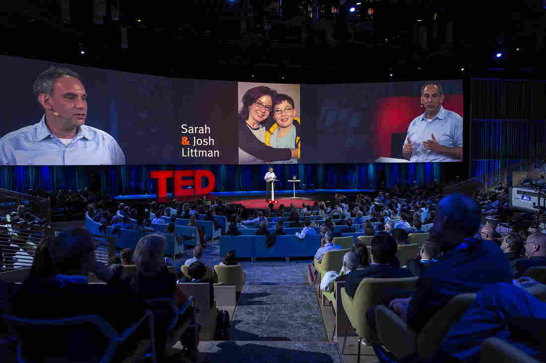 TED Prize Winner Dave Isay speaks at TED2015.