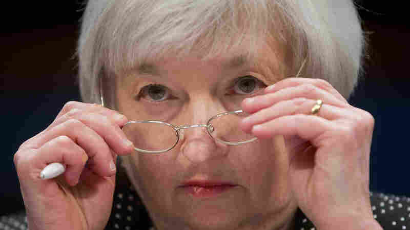 Federal Reserve Chair Janet Yellen, seen Feb. 25 on Capitol Hill.