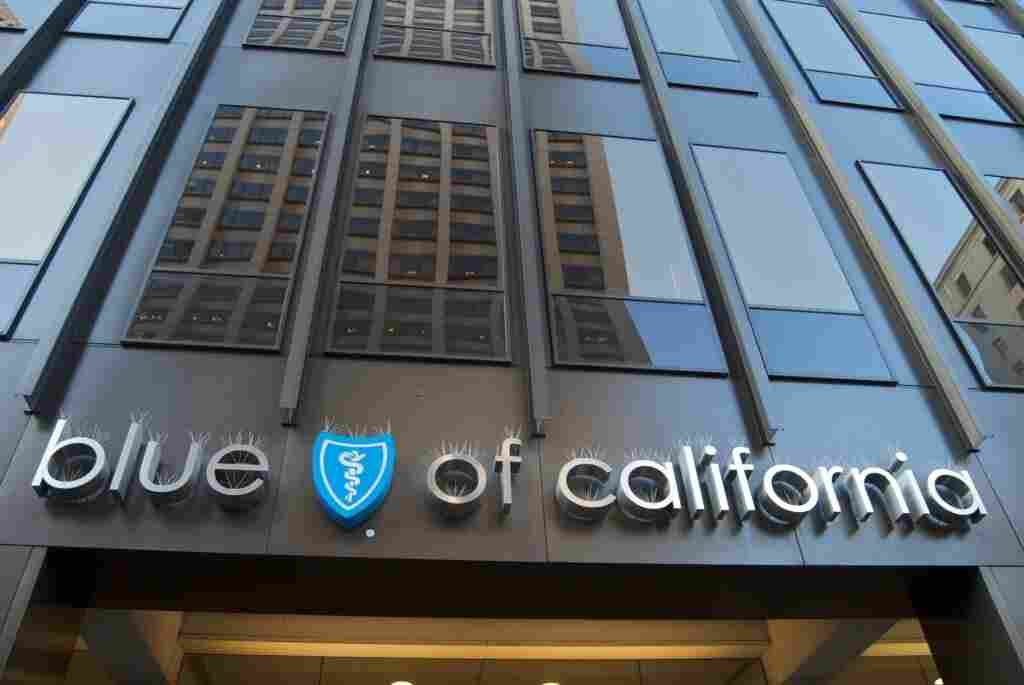 Blue Shield of California office in San Francisco, Oct. 28, 2009.