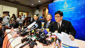 The Office of the Attorney-General of Thailand holds a news conference on Thursday about the Supreme Court's decision to accept a criminal charge against Former Prime Minister Yingluck Shinawatra.