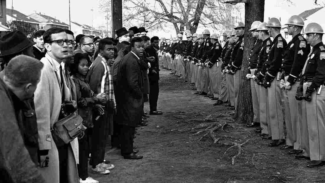 Demonstrators of different races and religions from across the country united to take part in the historic march from Selma to Montgomery, Ala., 50 years ago.