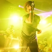 TV On The Radio headlined NPR Music's SXSW showcase at Stubb's on Wednesday, March 18, 2015.