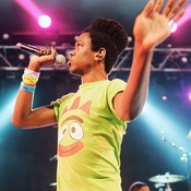 Shamir performed songs from his upcoming album, Ratchet, at NPR Music's SXSW showcase at Stubb's on Wednesday, March 18, 2015.