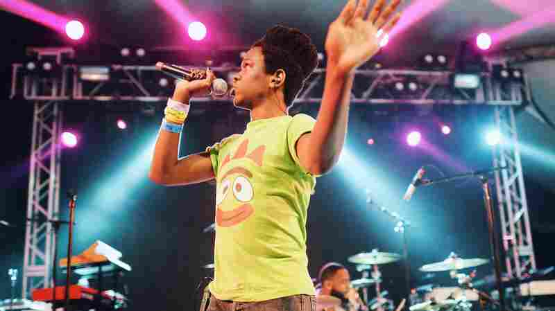 Watch Shamir Perform 3 Songs From 'Ratchet'