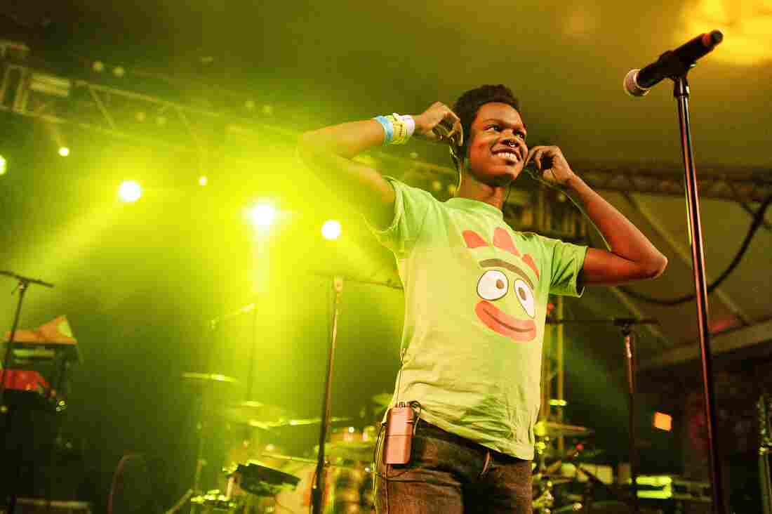 Shamir combined disco with hip-hop in his short but powerful set at Stubb's.