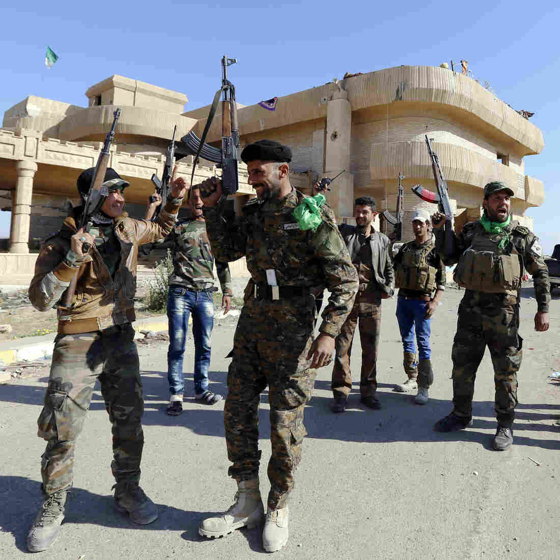In Tikrit Offensive, Local Sunnis, Shiite Militias Are Unlikely Allies