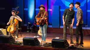 Brandi Carlile performs live on the World Cafe.
