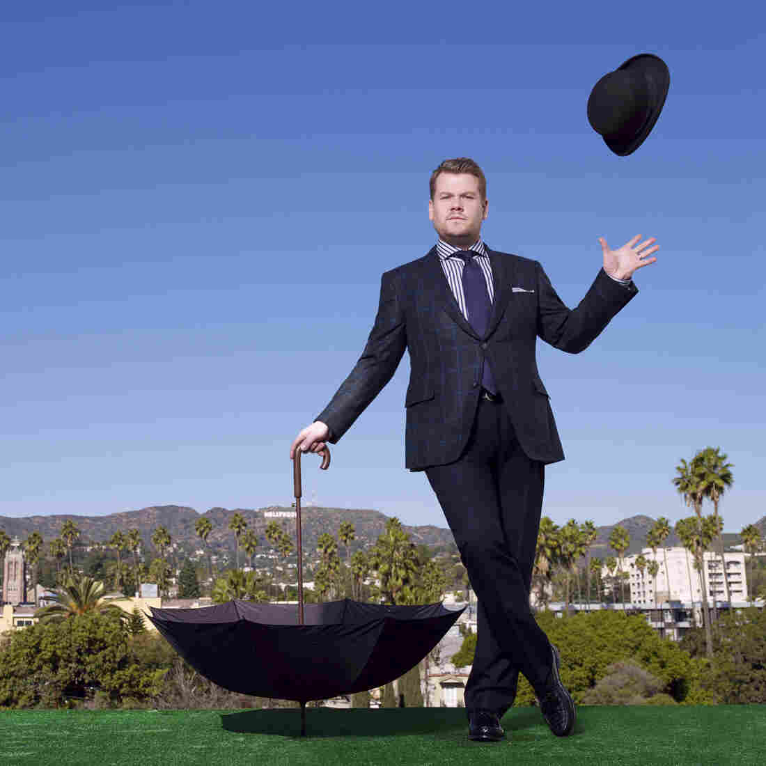 One Man, New TV Show: James Corden Takes Over At 'Late Late Night'