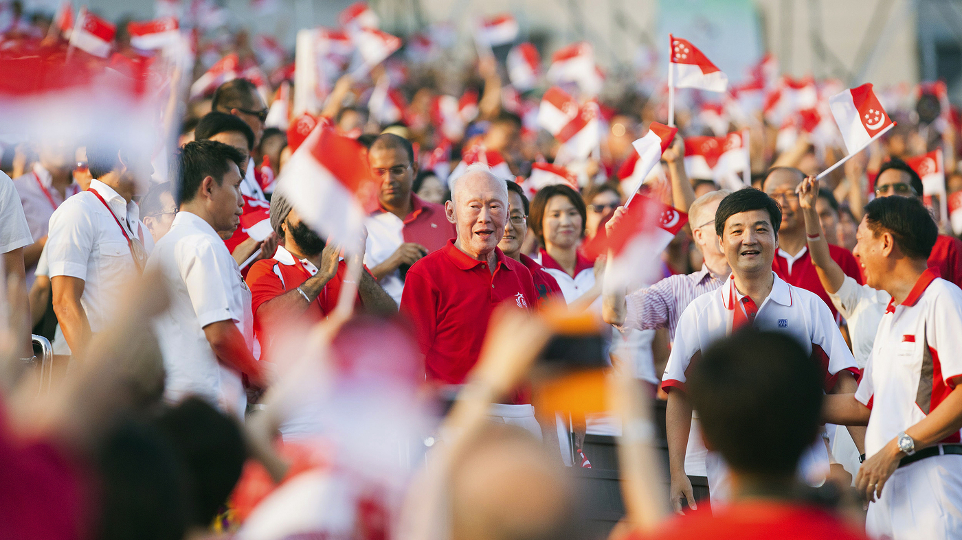 Founding Father Of Modern Singapore  Lee Kuan Yew  Dies At 91   Parallels   Npr
