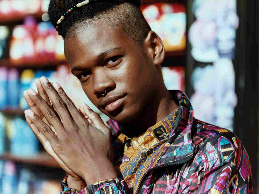 Shamir's dance music has gospel, country, and disco influences, but it's his androgynous voice that surprises most people.