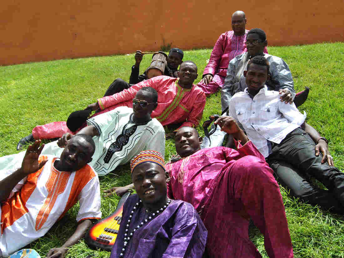 Tal National, the most popular band in the West African country of Niger.