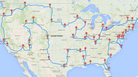 The Definitive Road Trip? It's Data-Driven