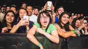 The crowd was all smiles during NPR Music's showcase at this year's South By Southwest music festival. We can't send you back in time to hear the shows, but you can listen to some of Bob Boilen's favorite performers from the festival.