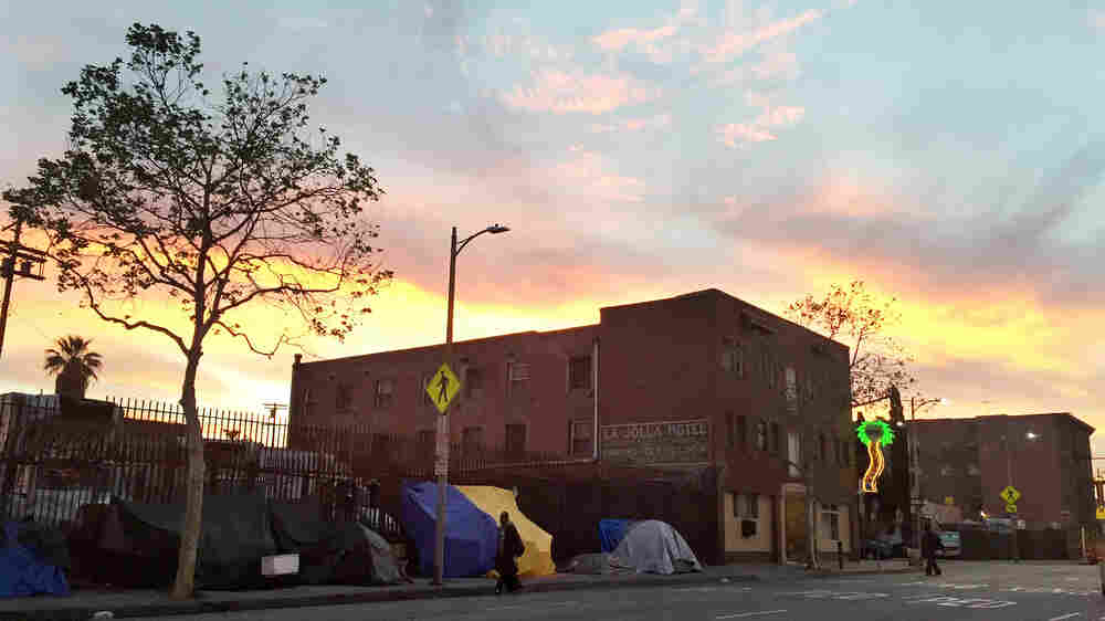Understanding Skid Row's Tensions After A Fatal Police Shooting