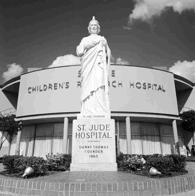 St. Jude was founded by performer Danny Thomas in 1960. St. Jude is the patron saint of hope and impossible causes.