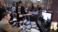 Research finds playing a collaborative video game like Rock Band makes you more comfortable with strangers.