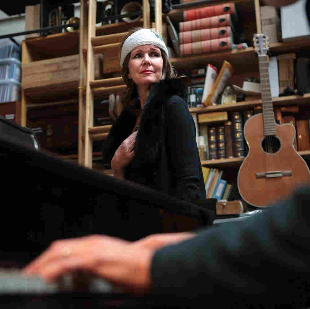 MaryAnn Anselmo has started to sing again after recovering from brain surgery and having successful treatment with a drug that targeted a mutation in her tumor cells.
