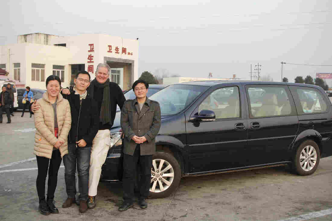 NPR's Frank Langfitt Chauffeurs Chinese Couple 500 Miles To Their Rural Wedding
