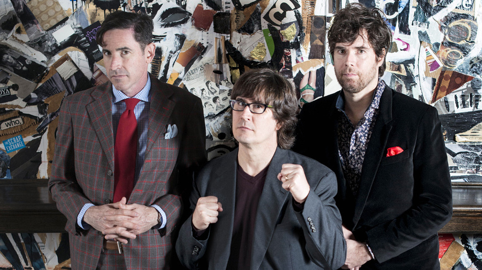 The Mountain Goats' new album, Beat the Champ, comes out April 7. (Courtesy of the artist)