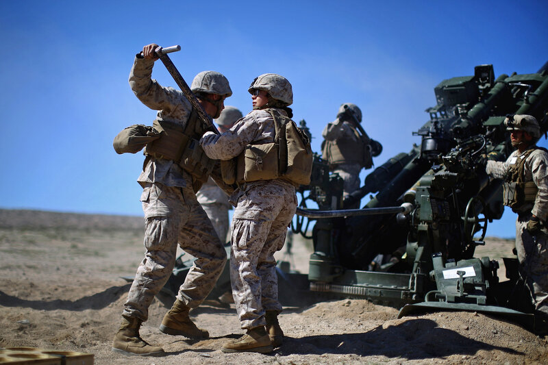 can female marines carry the load and kill the enemy