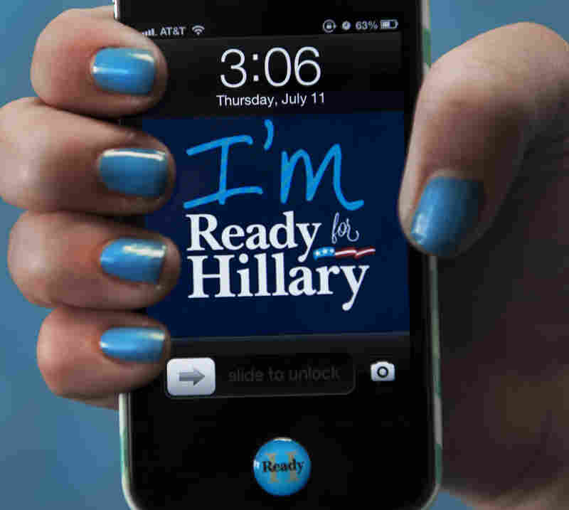Ready for Hillary iPhone