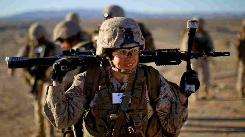 Can Female Marines Carry The Load And Kill The Enemy?