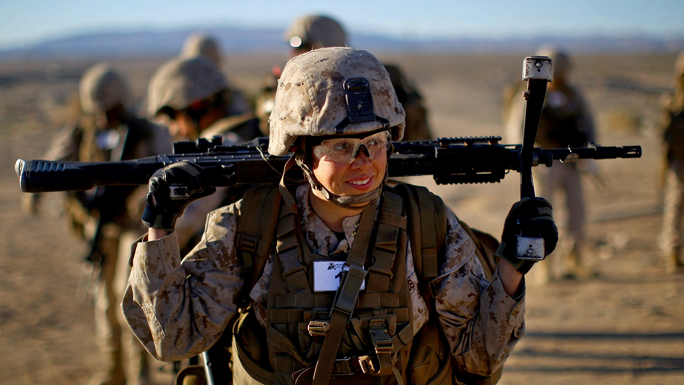 Can Female Marines Carry The Load And Kill The Enemy? | NCPR