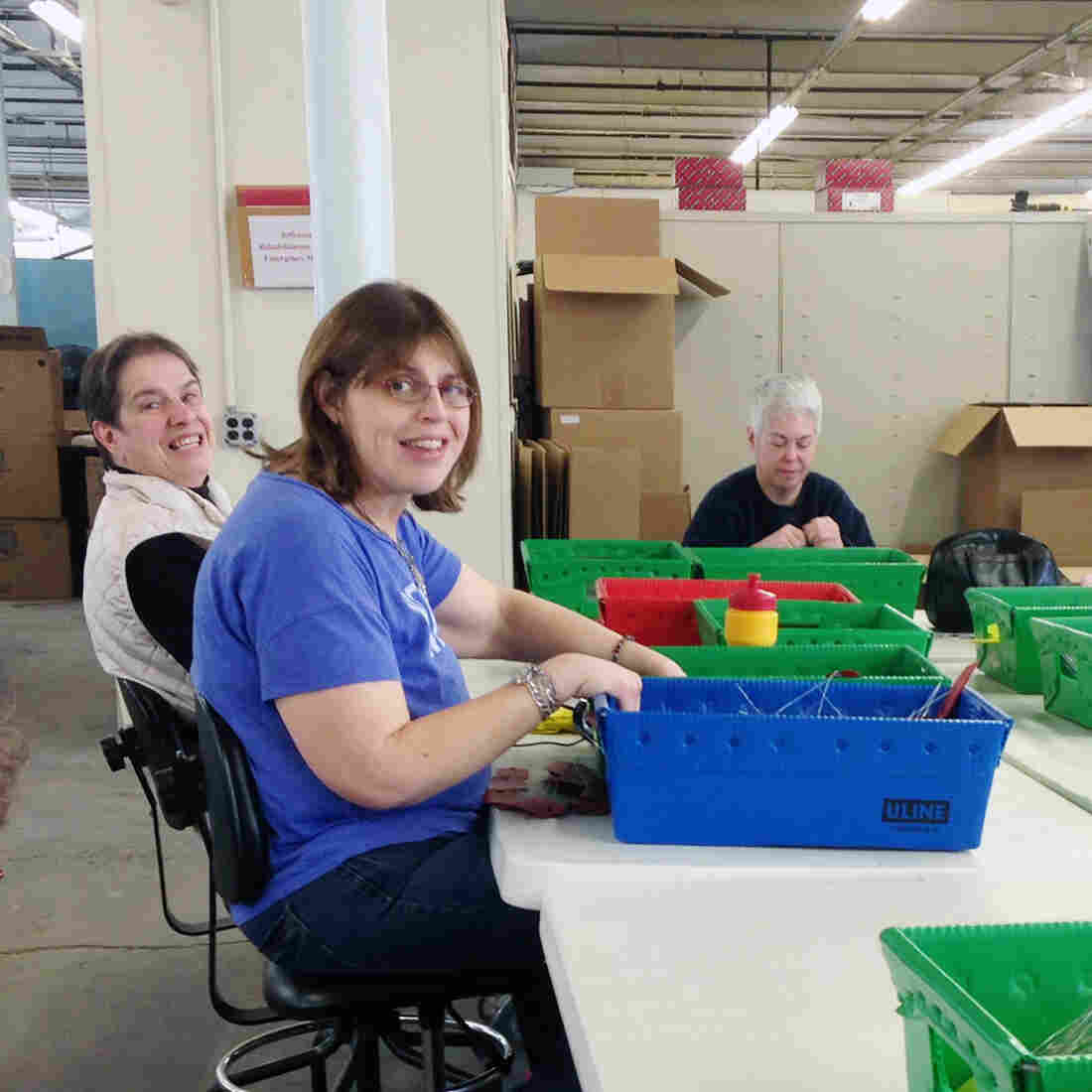 Advocates Fight To Keep Sheltered Workshops For Workers With Disabilities