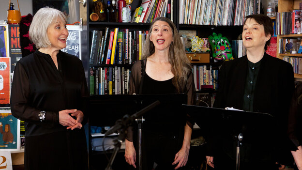 Tiny Desk Concert with Anonymous 4 on March 4. (NPR)