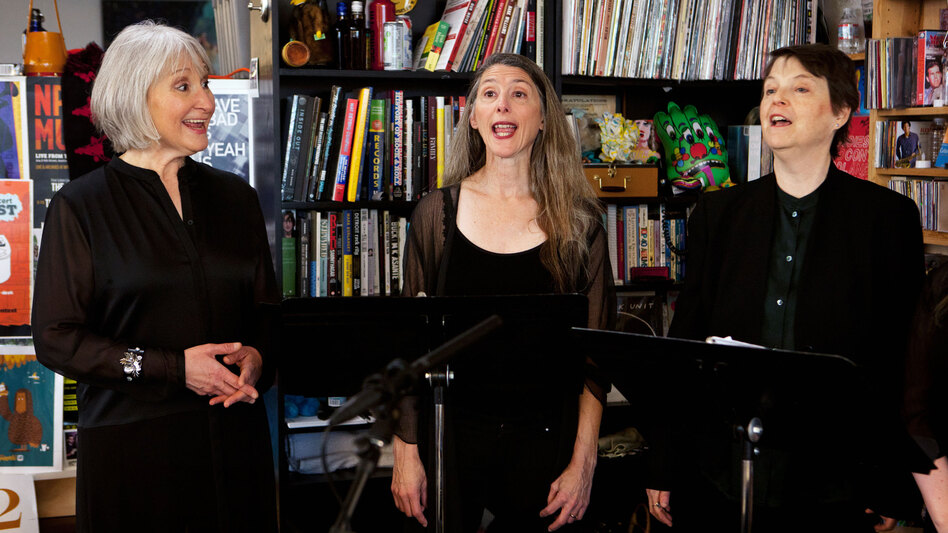 Tiny Desk Concert with Anonymous 4 on March 4.