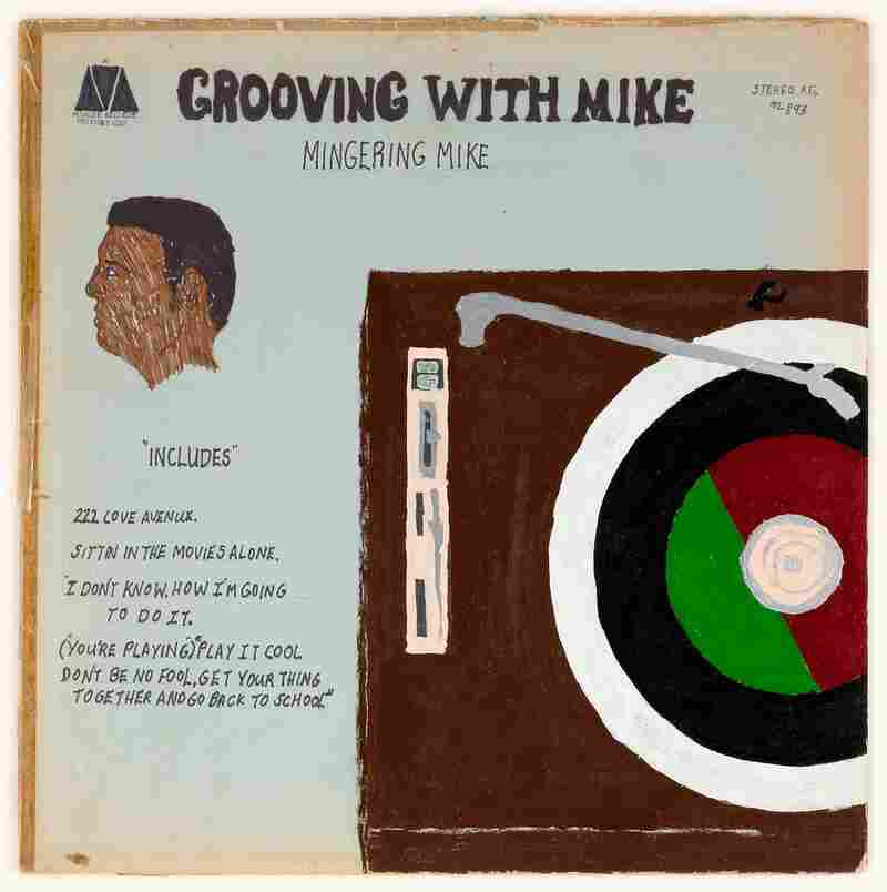 Mingering Mike, 'Grooving with Mike,' 1970 (mixed media on paperboard).
